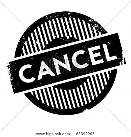 Cancel rubber stamp. Grunge design with dust scratches. Effects can be easily removed for a clean, crisp look. Color is easily changed.