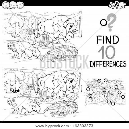Difference Game With Dogs