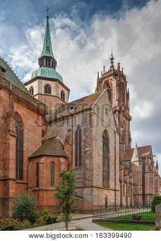 St. George's Church is a Gothic church in Selestat Bas-Rhin Alsace France.