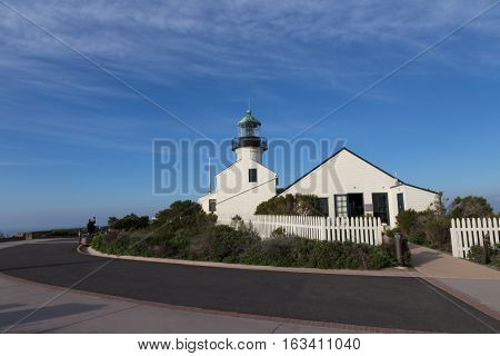 Shot taken on a bright January day when on a holiday to San Diego and visited Point Loma.