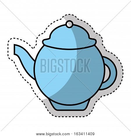 tea pot isolated icon vector illustration design