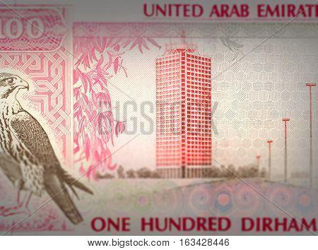 Closed Up Money Blur