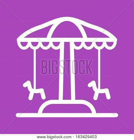 Park, amusement, town icon vector image. Can also be used for town. Suitable for mobile apps, web apps and print media.