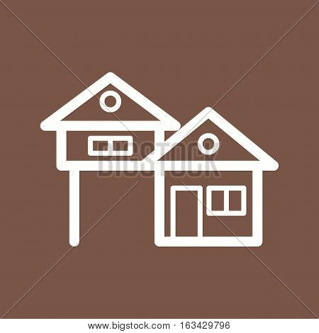 House, town, architecture icon vector image. Can also be used for town. Suitable for mobile apps, web apps and print media.