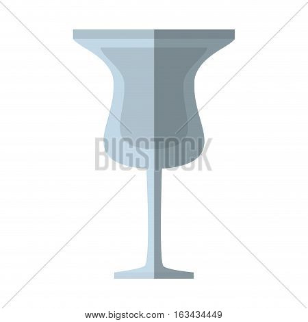 glass cup cocktail drink beverage shadow vector illustration eps 10