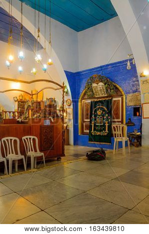 Yosef Caro Synagogue, In Safed (tzfat)
