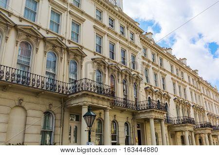 Historic City Buildings In Kensington, London