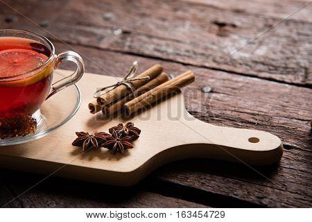 Tea, Anise And Cinnamon