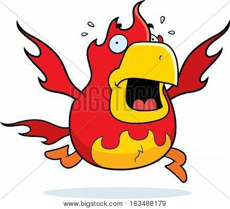 Cartoon Phoenix Panic