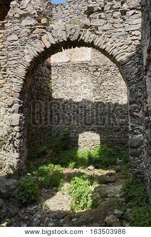Ruins Of The Nevitsky Castl.