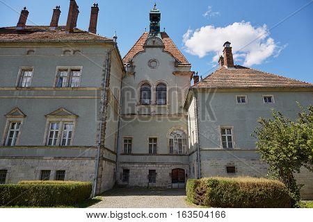 Old Sherborne castle in Zakarpatska Oblast. Ukraine.