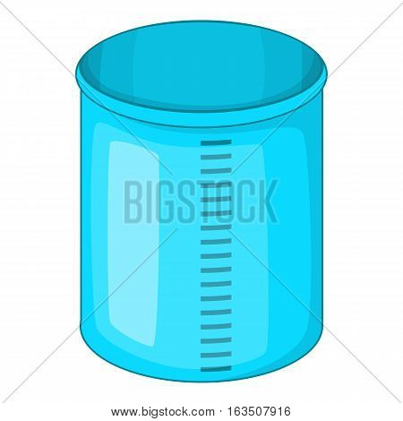Measuring jug icon. Cartoon illustration of measuring jug vector icon for web design