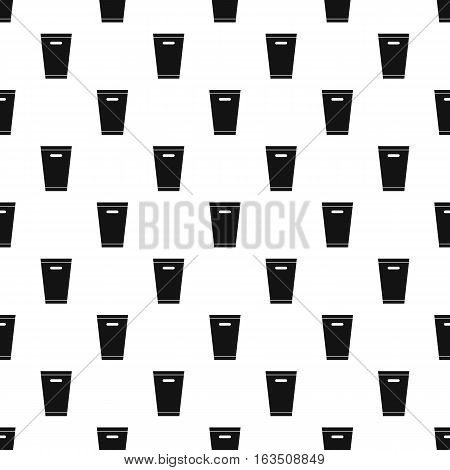 Dustbin pattern. Simple illustration of dustbin vector pattern for web
