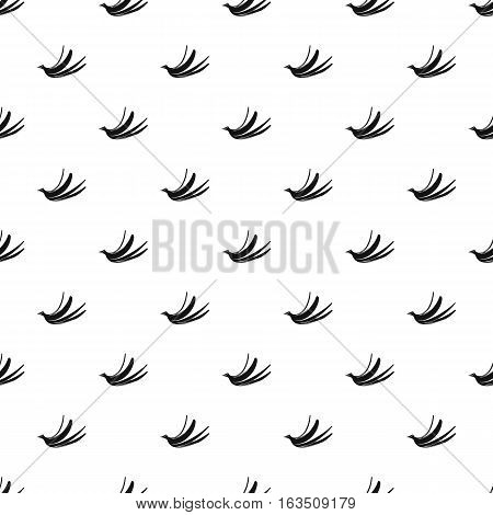 Banana peel pattern. Simple illustration of banana peel vector pattern for web