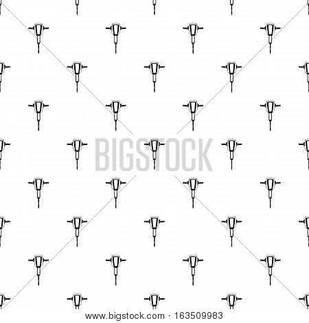 Jackhammer pattern. Simple illustration of jackhammer vector pattern for web