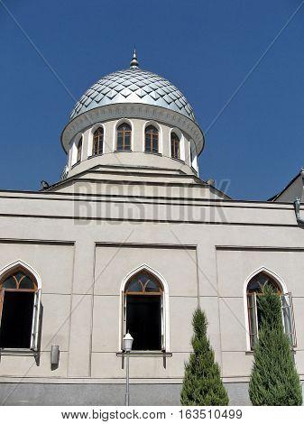 Dome of Juma Mosque in Tashkent Uzbekistan September 2007