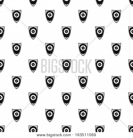 Shield for war pattern. Simple illustration of shield for war vector pattern for web