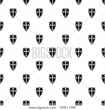 Protective shield pattern. Simple illustration of protective shield vector pattern for web