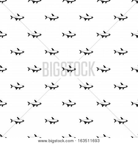 Trout fish pattern. Simple illustration of trout fish vector pattern for web