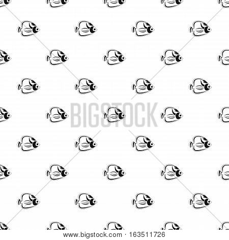 Fish tang pattern. Simple illustration of fish tang vector pattern for web