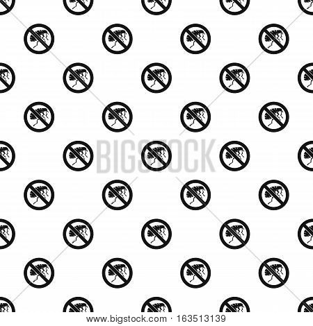 Etching insect pattern. Simple illustration of etching insect vector pattern for web