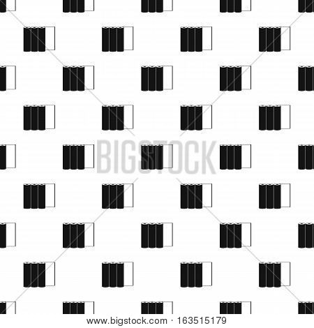 Printer cartridges pattern. Simple illustration of printer cartridges vector pattern for web
