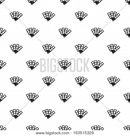 Color palette pattern. Simple illustration of color palette vector pattern for web