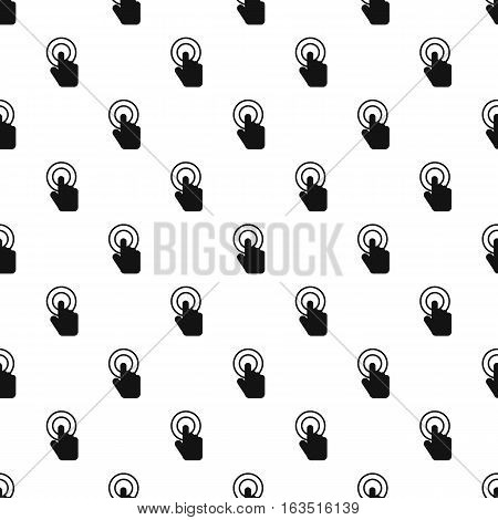 Cursor hand pattern. Simple illustration of cursor hand vector pattern for web
