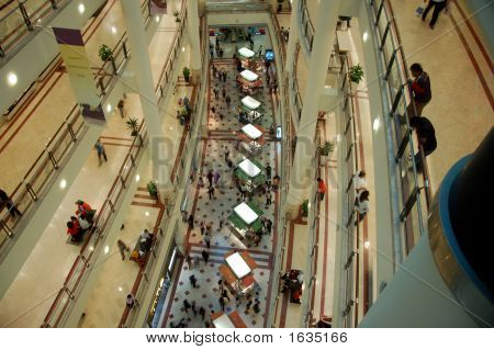 Shopping Mall With Stalls
