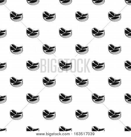 Lot of steaks pattern. Simple illustration of lot of steaks vector pattern for web