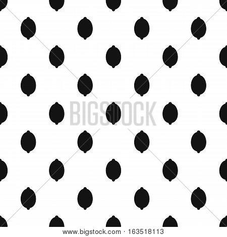 Lemon pattern. Simple illustration of lemon vector pattern for web