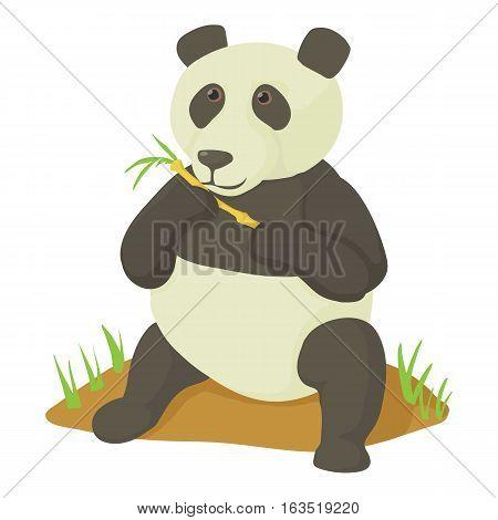 Panda icon. Cartoon illustration of panda vector icon for web