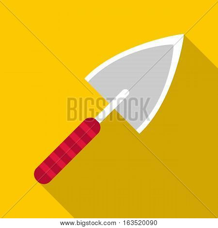 Small shovel icon. Flat illustration of small shovel vector icon for web