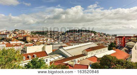 Lisbon Skyline Panorama