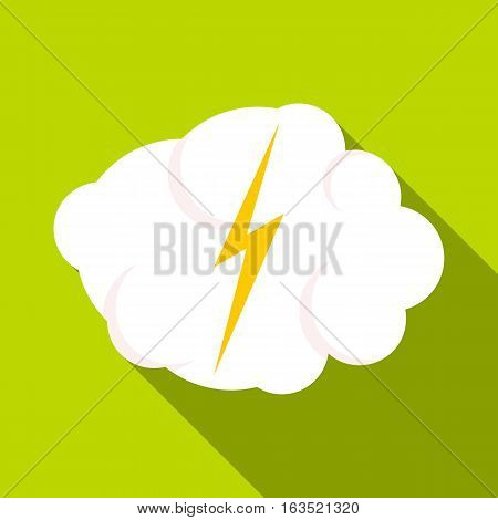 High voltage icon. Flat illustration of high voltage vector icon for web