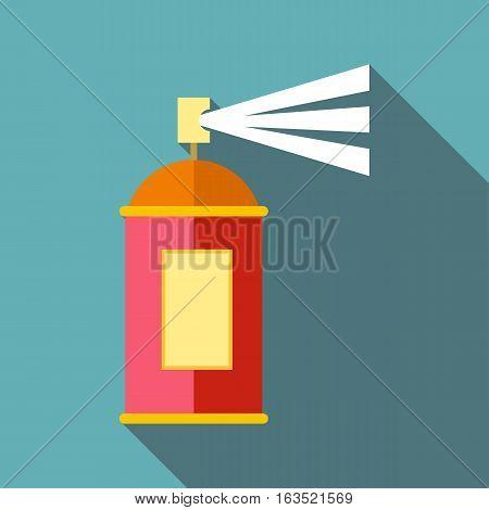Spray icon. Flat illustration of spray vector icon for web