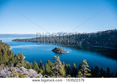 The Emerald Bay in South Lake Tahoe