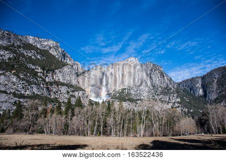 The Valley in Yosemite National Park, California