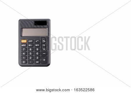 Calculator isolated on white background Office Concept