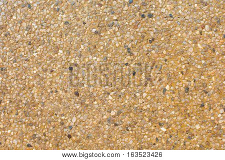 close up sand background for mix concrete in construction industrial