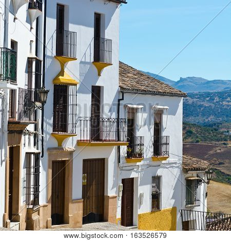 The Old Medieval Spanish City of Ronda