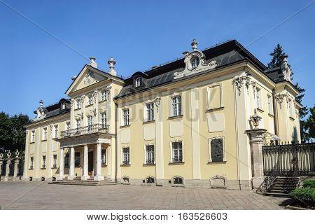 Residence Metropolitan Andrey Sheptytsky Primate of the Ukrainian Greek Catholic Church (1900-1944). Lviv Ukraine
