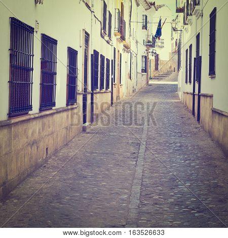 Medieval Spanish City of Ronda Instagram Effect