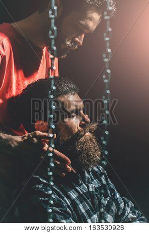 Barber Styles Beard To Man