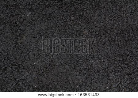 Background of road surface texture black horizontal