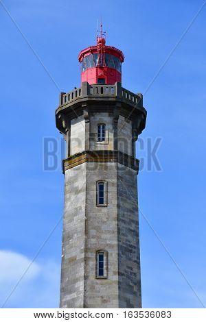 Saint Clement des Baleines France - september 26 2016 : the lighthouse