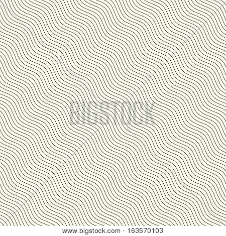 Seamless background pattern. Diagonal abstract wavy pattern
