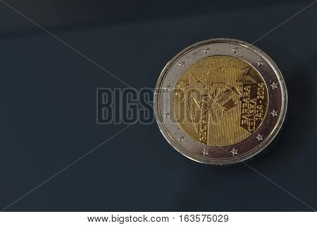 Commemorative 2 Eur Coin 600Th Anniversary Of Coronation, Barbara Celjska, Slovenia