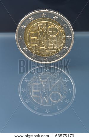 Commemorative 2 Eur Coin Emona, Slovenia