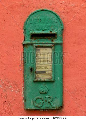 Old Irish Mail Box